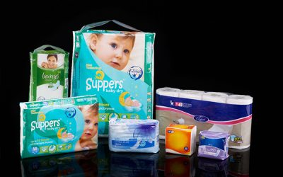 DIAPER AND TISSUE PACKAGING